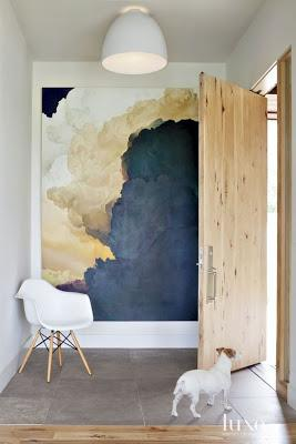 inspiration board | oversized art