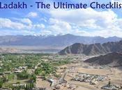 Ladakh Ultimate Checklist