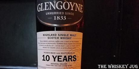 Glengoyne 10 Years Label
