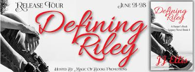 Release Tour - Defining Riley by JJ Ellis