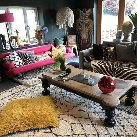 @theraynors top 13 #livefabulousandfearless Instagram homes - eclectic interiors