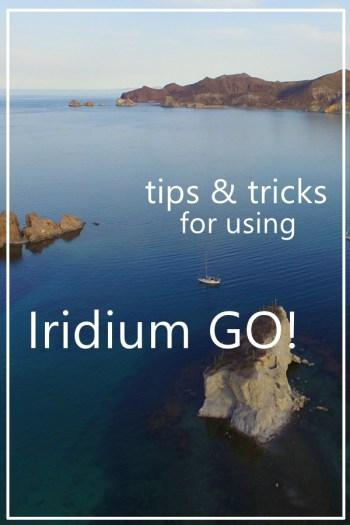 Optimizing Iridium GO use on board