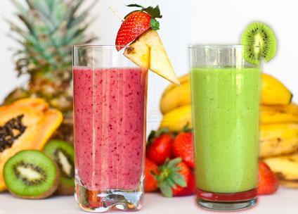 Mix fruit  Smoothie summer drinks