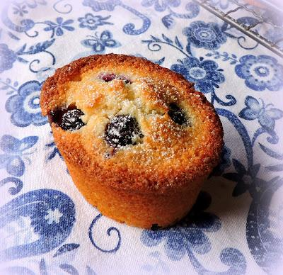 Blueberry, Lime & Coconut Friands