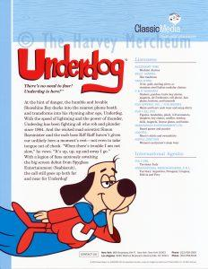 2004 Classic Media advertising Underdog page