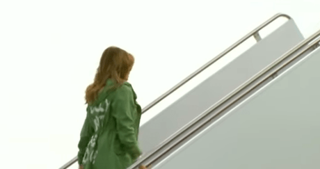 """DC moms answer to Melania Trump jacket  """"Yes We Care!"""""""