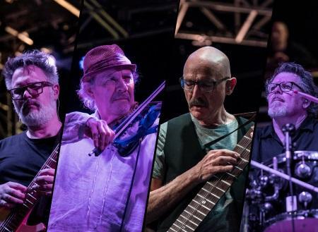 Stick Men + David Cross: Latin American tour