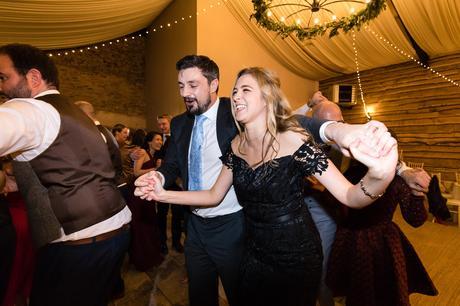 York Wedding Photography at Hornington Manor Farm dancing