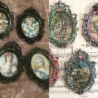 Mini Mixed Media Frame Project