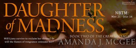 Daughter of Madness by Amanda J. McGee