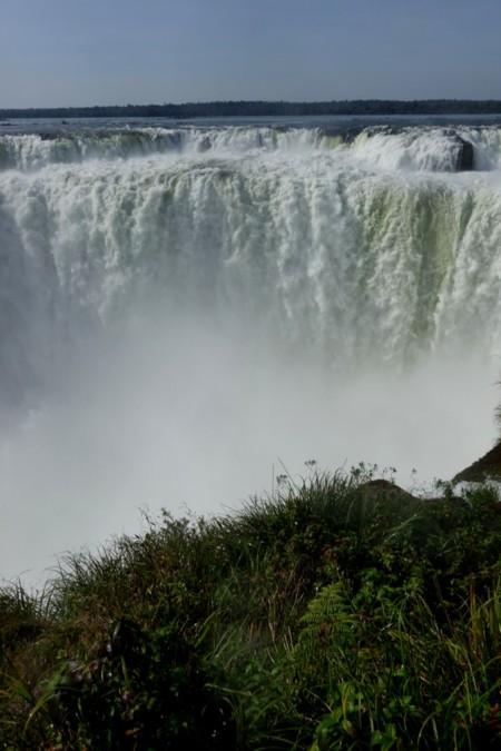 A Group Life at the Waterfalls of Iguazu