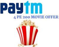 paytm rs 200 cashback movie