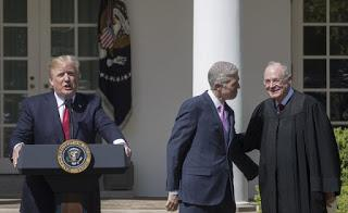 Trump and Gorsuch pressure Anthony Kennedy to retire, hoping to replace him with SCOTUS justice who would be favorable in rulings on Mueller investigation