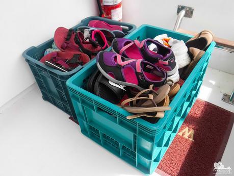 Cubbies for footwear