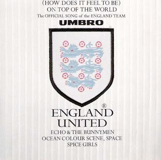 Rewind: England United (Echo And The Bunnymen/Ocean Colour Scene /Space /The Spice Girls) - (How Does it Feel to Be) on Top of the World