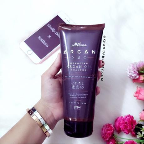 Satthwa Argan Oil Shampoo