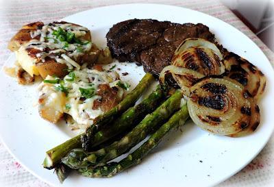 Perfectly Grilled Steak & Road Kill Potatoes