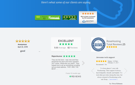 RoseHosting Review July 2018 With Coupon Codes Exclusive 50% Off