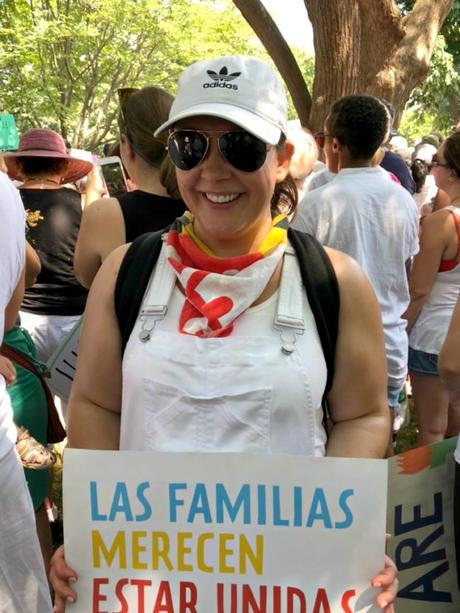 What I Wore: Families Belong Together Rally and March