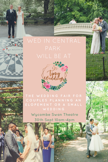 Wed in Central Park at Tiny Weddings Fair