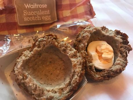 Product Review: Waitrose Succulent Scotch egg