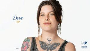 """Dove Continues to Push the Limits of Cause Marketing with a """"No Digital Distortion"""" Label"""