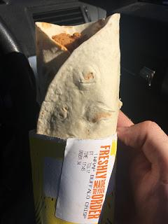 Today's Review: McDonald's Fiery Buffalo Chicken Wrap