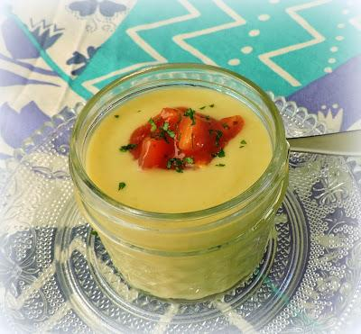 Sweet Pea & Avocado Vichyssoise