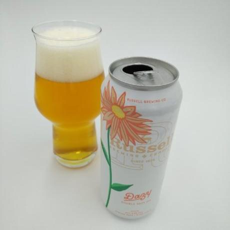 Dazy Double Hazy IPA – RUSSELL BREWING