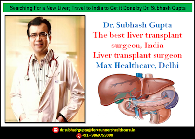 Searching For a New Liver; Travel to India to Get it Done by Dr. Subhash Gupta