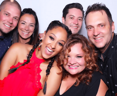 Adam Housley gave wife Tamera Mowry a 40th birthday party in Napa Valley