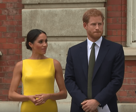 Meghan Markle stuns in yellow at Commonwealth event with Prince Harry