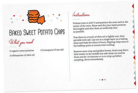 Image: Baked Sweet Potato Chips