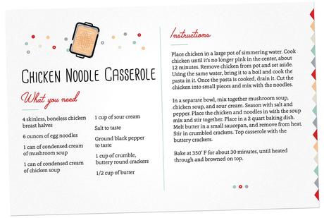 Image: Chicken Noodle Casserole