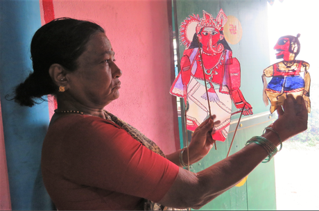 Togalu Gombeyata: traditional form of puppetry – of art, drama and song