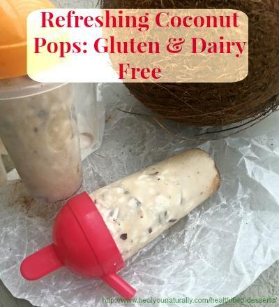 Coconut Ice Pops Sugar, Gluten & Dairy Free + (Easy Recipe)