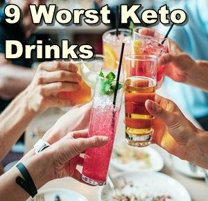 9 Worst Drinks on a Ketogenic Diet