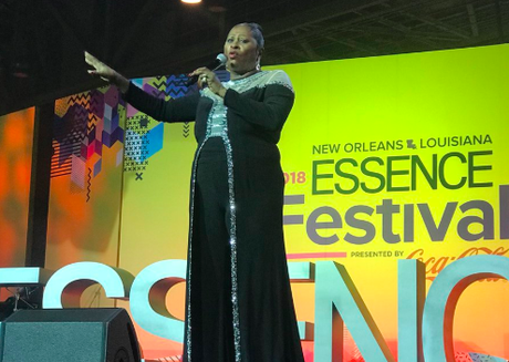 Pics & Videos from the Dottie Peoples tribute at Essence Fest