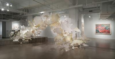 paper arts | paper art installation
