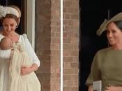 Kate Middleton Meghan Markle Royal Looks Baby Louis Christening