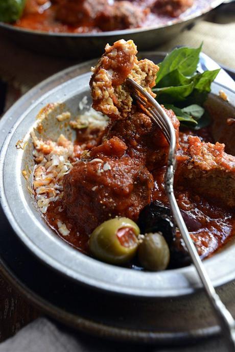 ground chicken chorizo italian meatballs