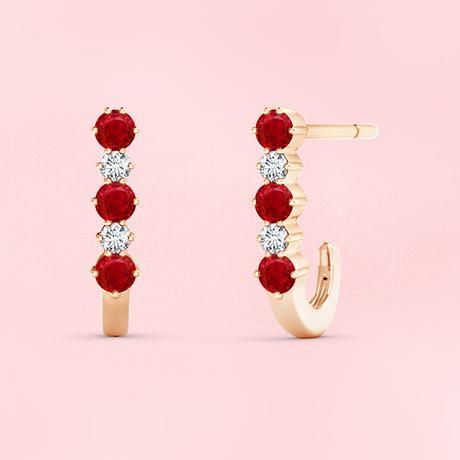 5 Ruby Earrings Everyone Should Have