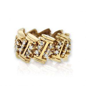 One of a Kind Retro Engagement Rings