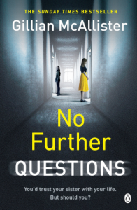 No Further Questions – Gillian McAllister