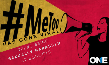 #METOO Has Gone Viral Teens Being Sexually Harassed by Fellows at Schools