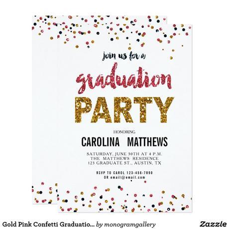 Invitation Graduation Party