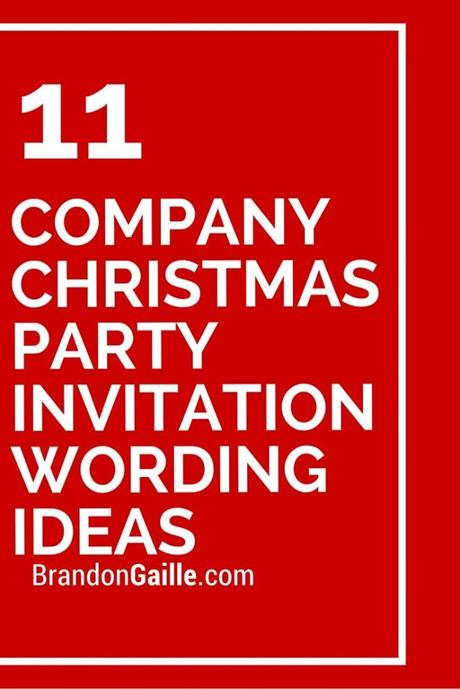 Corporate Party Invitation Wording Paperblog