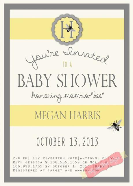 Gender neutral baby shower invites paperblog gender neutral baby shower invites filmwisefo