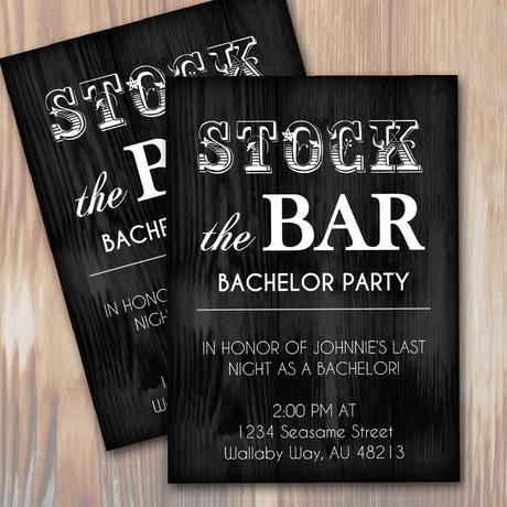 Bachelor Party Invitation Template Paperblog - Bachelor party invitation template