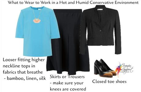 What to Wear at Work in a Hot and Humid Conservative Environment
